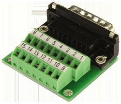 CON01 D-SUB 15 Breakout Connector